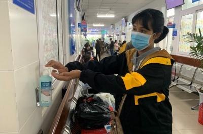 bệnh viện sản- nhi tỉnh:  chủ động phòng chống dịch covid-19